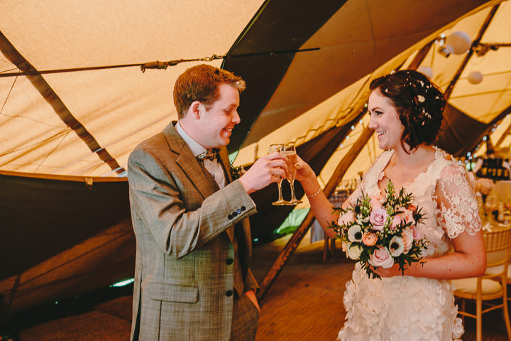29 Tipi Wedding, With Lots of Handmade and Vintage Elements' By Mark Tierney