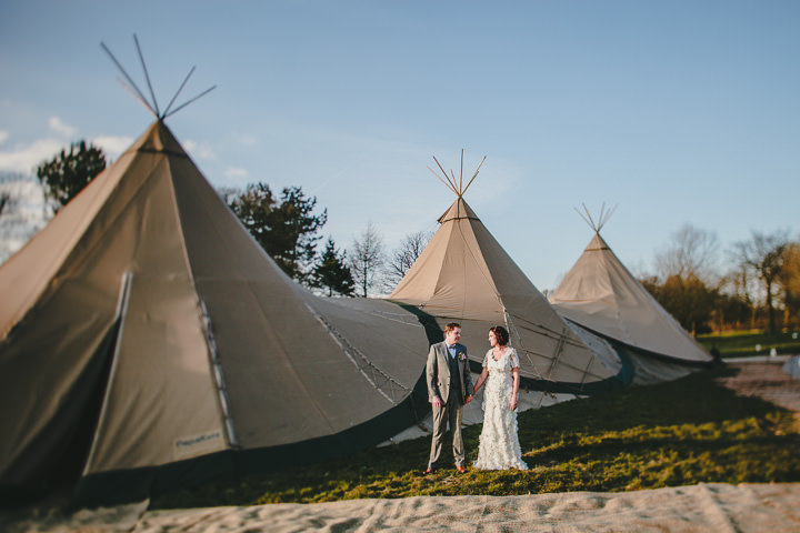3 Tipi Wedding, With Lots of Handmade and Vintage Elements' By Mark Tierney