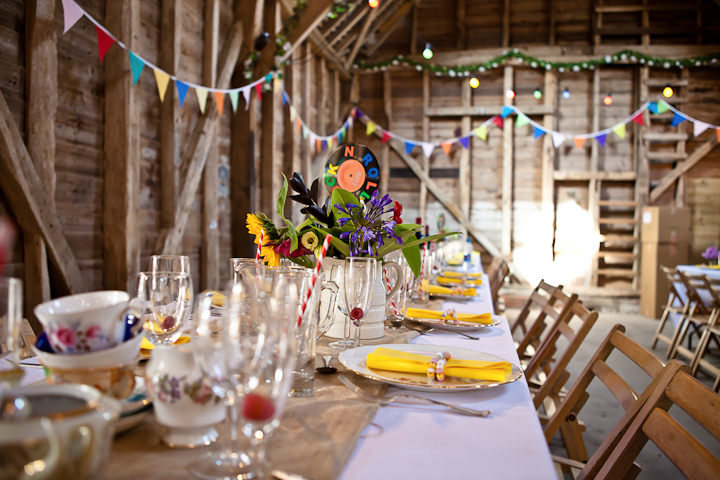 Colourful DIY Farm Wedding By Nikki Sheffield