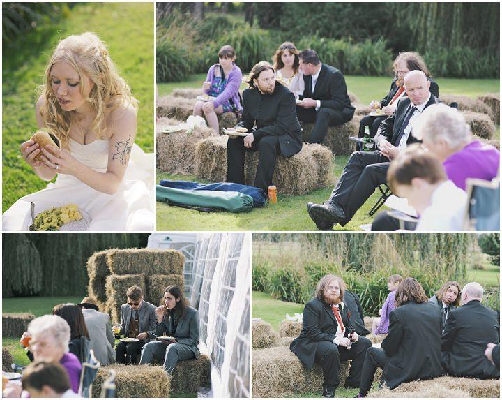 33 DIY Festival Wedding with Handfasting Ceremony
