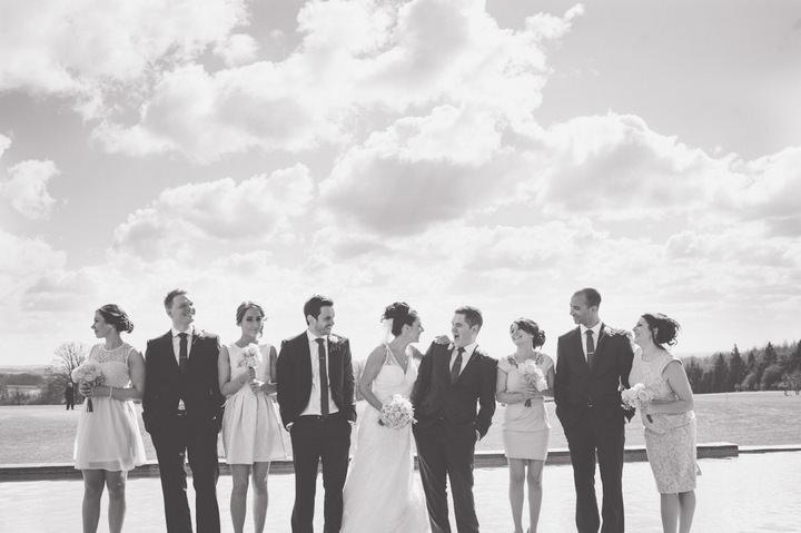 York Wedding group shots