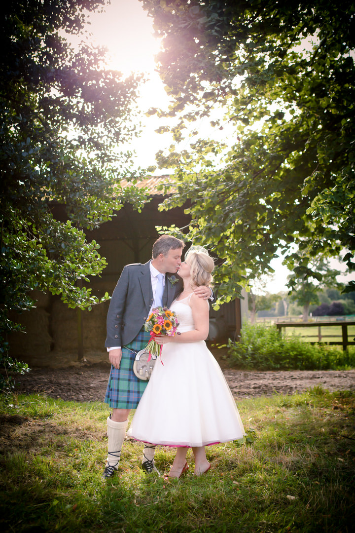Colourful DIY Farm Wedding. By Nikki Sheffield