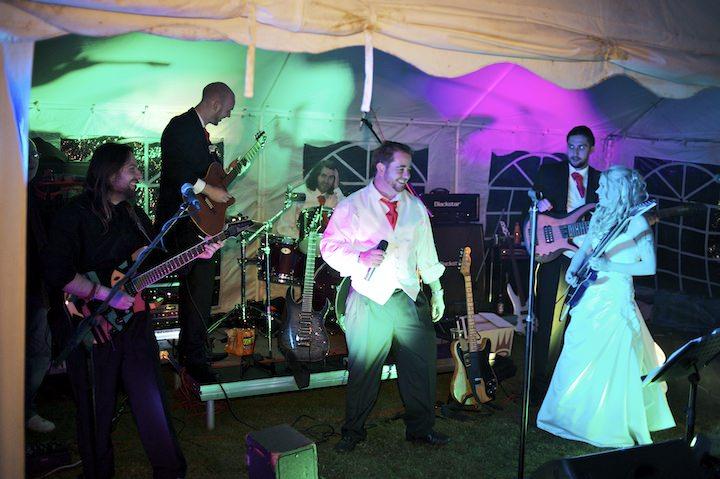 42 DIY Festival Wedding with Handfasting Ceremony