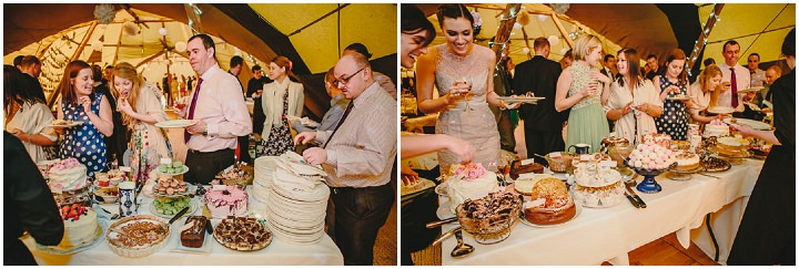 44 Tipi Wedding, With Lots of Handmade and Vintage Elements' By Mark Tierney