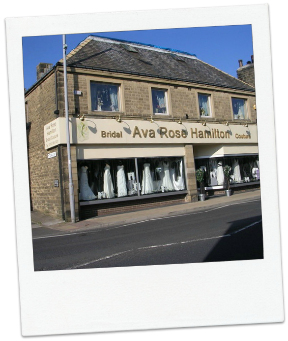 Ava Rose Hamilton Bridal Boutique in Silsden.