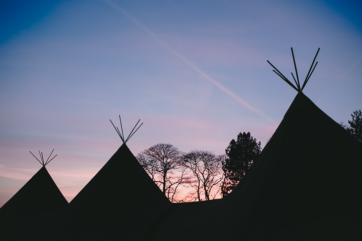 55 Tipi Wedding, With Lots of Handmade and Vintage Elements' By Mark Tierney