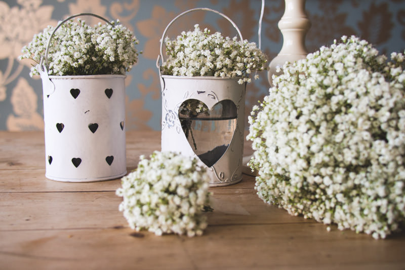 White wedding flowers with campbell s flowers boho weddings