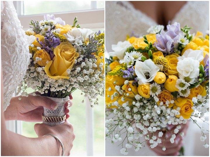11 Burlap, Sunflowers and Hay Bale Wedding