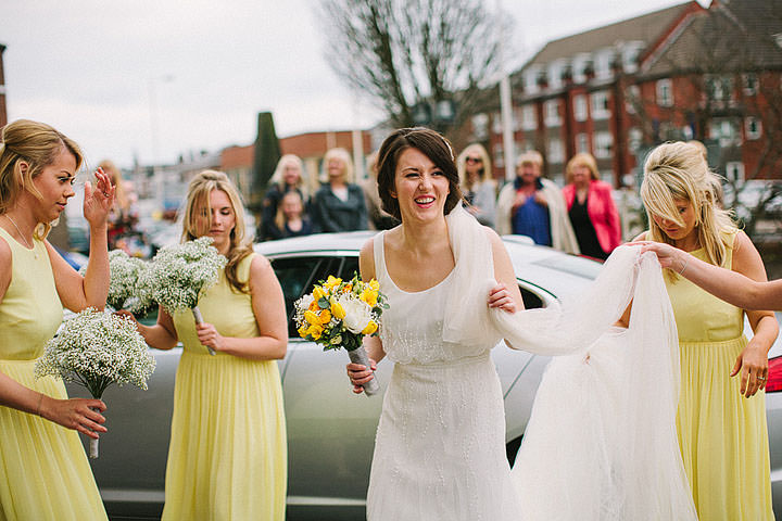 15 Book Themed Wedding With Yellow Details By Lawson Photography