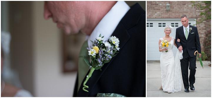 15 Burlap, Sunflowers and Hay Bale Wedding