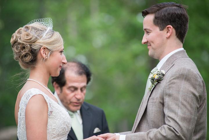 19 Burlap, Sunflowers and Hay Bale Wedding