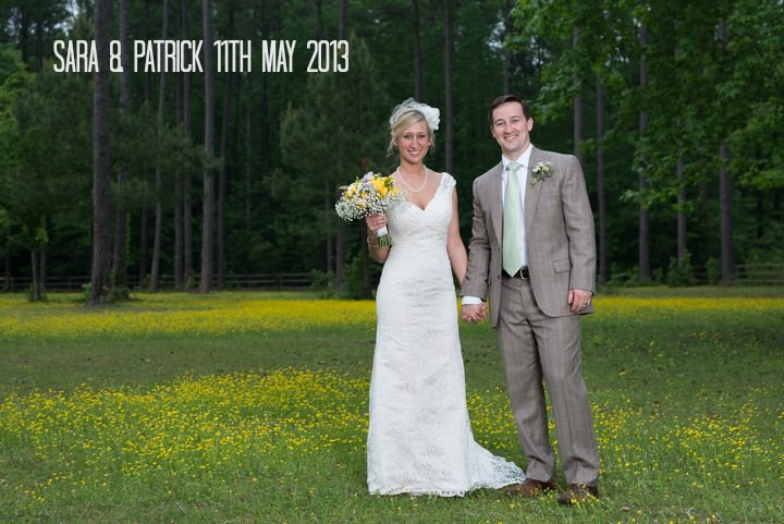1a Burlap, Sunflowers and Hay Bale Wedding