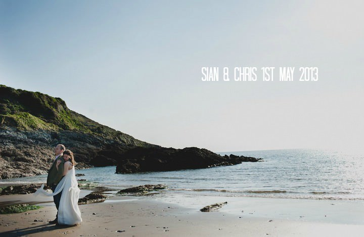 Chris and Sian's Travel Themed Cornish Cliff Top Wedding. By Toast of Leeds