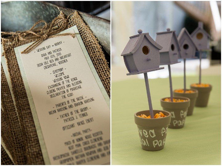 23 Burlap, Sunflowers and Hay Bale Wedding