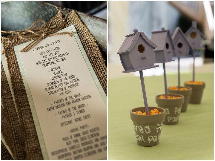 23 Burlap, Sunflowers and Hay Bale Wedding