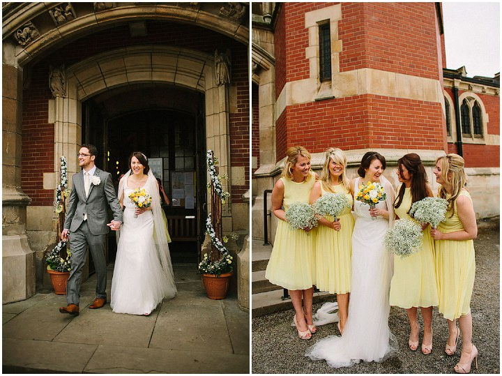 25 Book Themed Wedding With Yellow Details By Lawson Photography