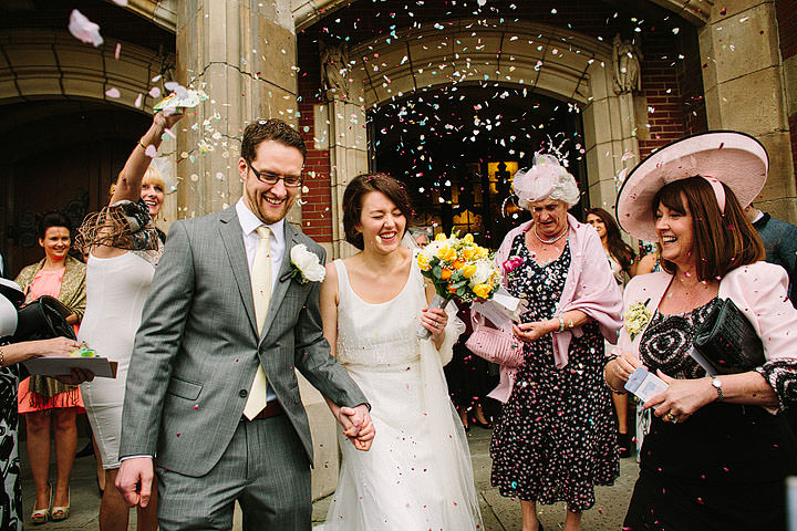 26 Book Themed Wedding With Yellow Details By Lawson Photography