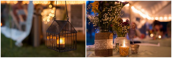 34 Burlap, Sunflowers and Hay Bale Wedding