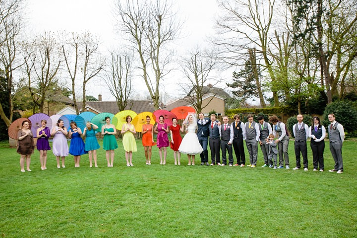 35 Rainbow Wedding With Ferret Racing and a Candy Anthony Dress