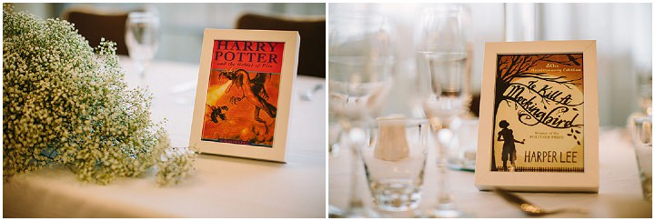 36 Book Themed Wedding With Yellow Details By Lawson Photography