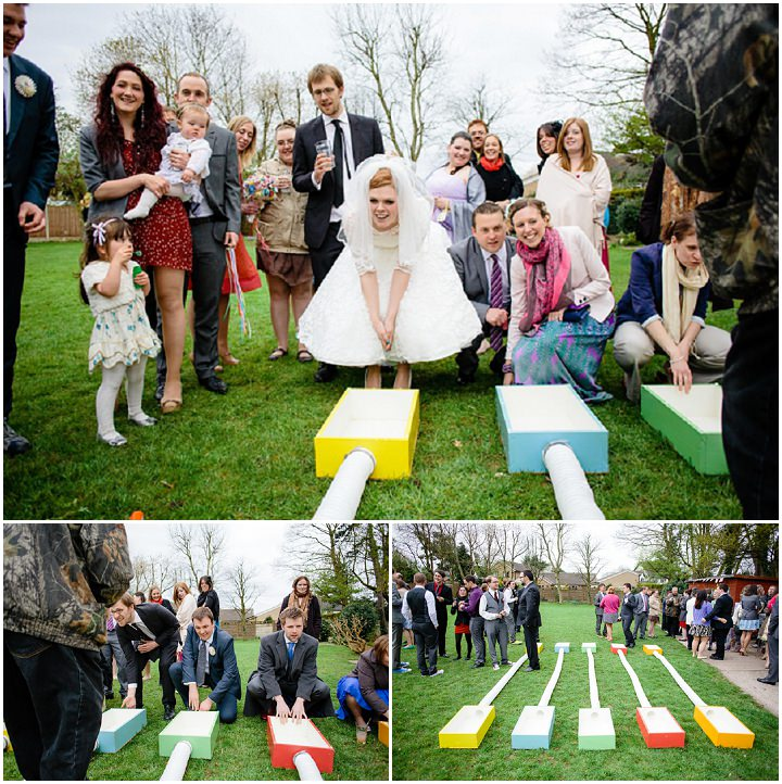 53 Rainbow Wedding With Ferret Racing and a Candy Anthony Dress