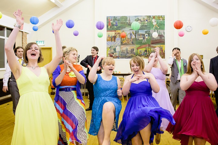 58 Rainbow Wedding With Ferret Racing and a Candy Anthony Dress