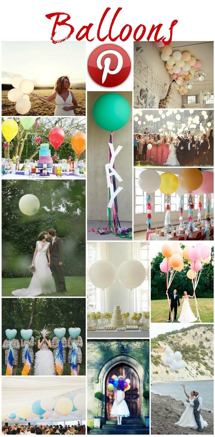 Boho Pins - Balloons