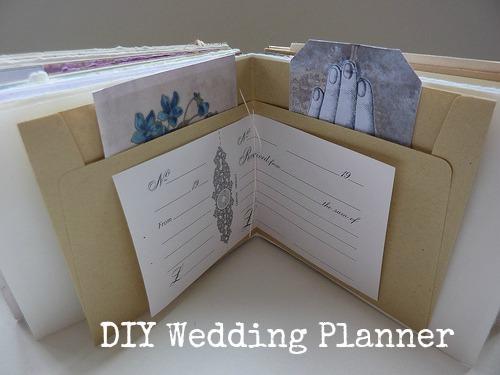 Diy Tutorial Wedding Planner Folder Boho Weddings For The Luxe Bride