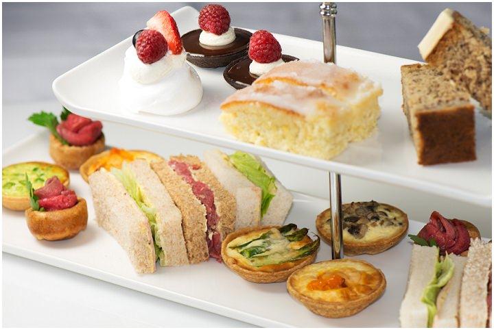 picnic style wedding food