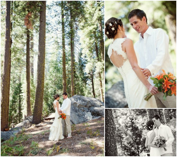 11 Rustic Outdoor Woodland Wedding