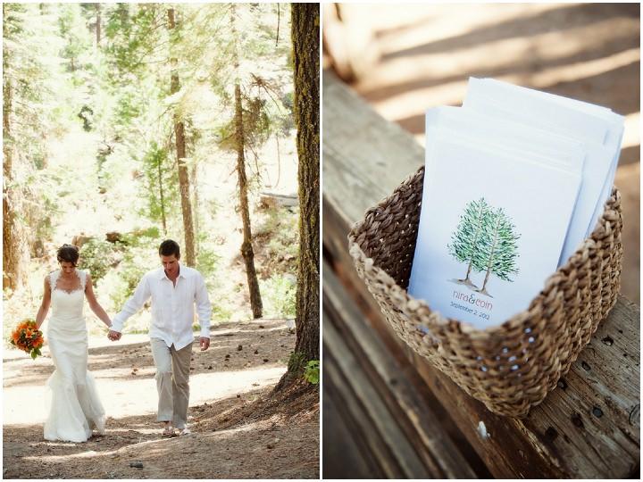 12 Rustic Outdoor Woodland Wedding