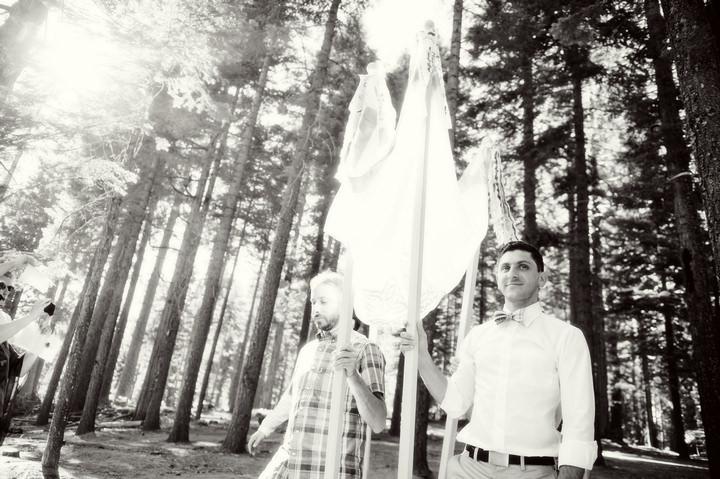 13 Rustic Outdoor Woodland Wedding