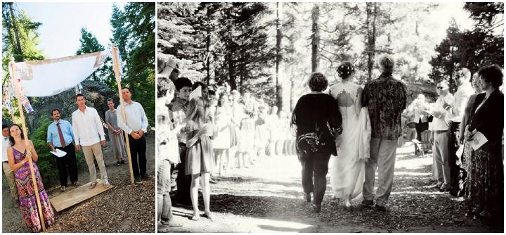 15 Rustic Outdoor Woodland Wedding