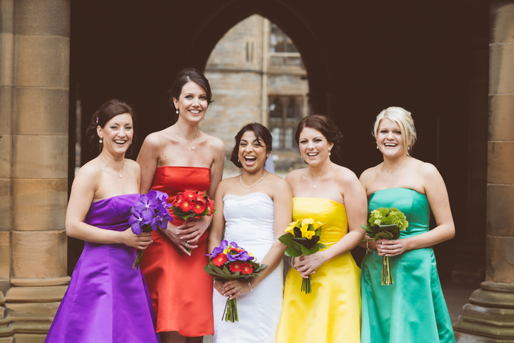 16 Colourfull Caribbean Meets Scottish Wedding
