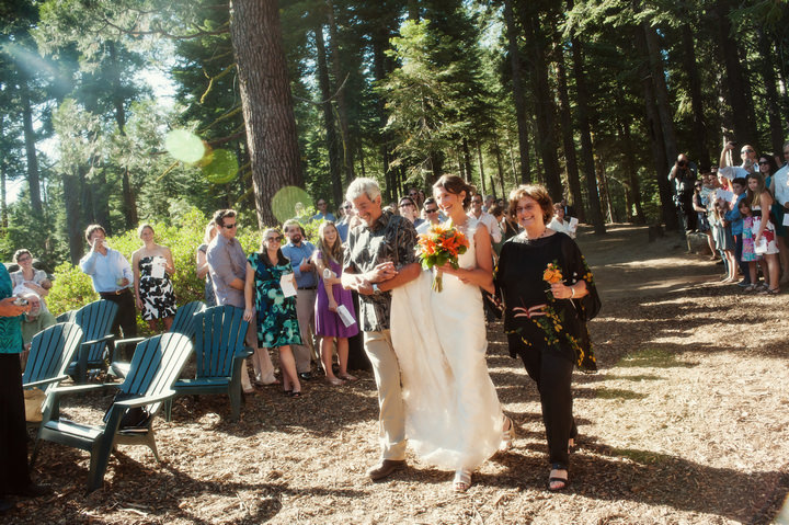 16 Rustic Outdoor Woodland Wedding