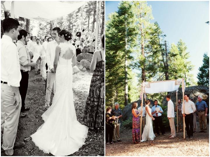 17 Rustic Outdoor Woodland Wedding