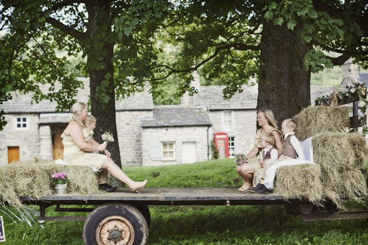 19 Hay Bales and Tractor Loving Yorkshire Wedding My Mark Tattersall