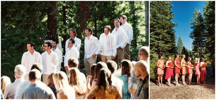 19 Rustic Outdoor Woodland Wedding