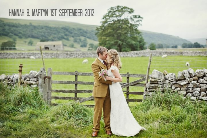 2 Hay Bales and Tractor Loving Yorkshire Wedding My Mark Tattersall