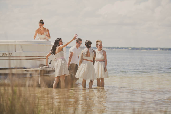 20 Florida Lake Wedding. By Stacy Paul Photography