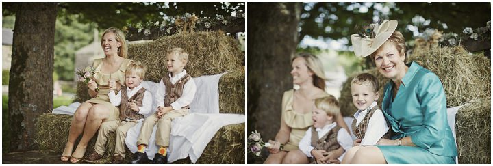20 Hay Bales and Tractor Loving Yorkshire Wedding My Mark Tattersall