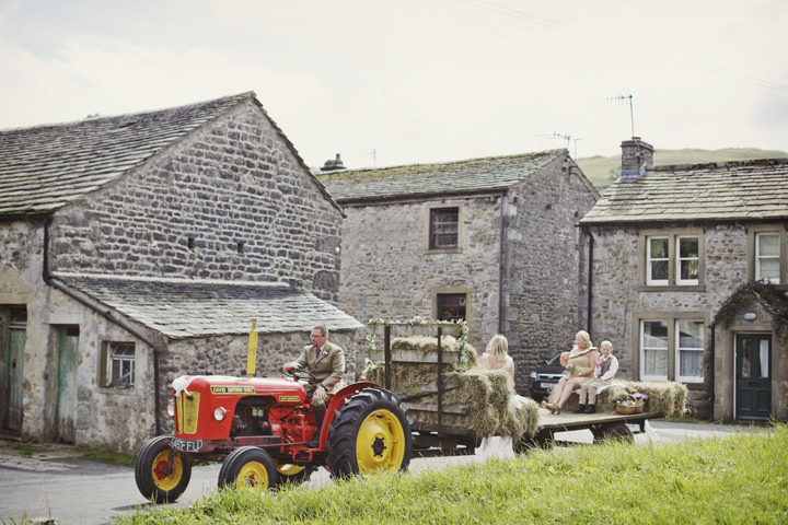 21 Hay Bales and Tractor Loving Yorkshire Wedding My Mark Tattersall