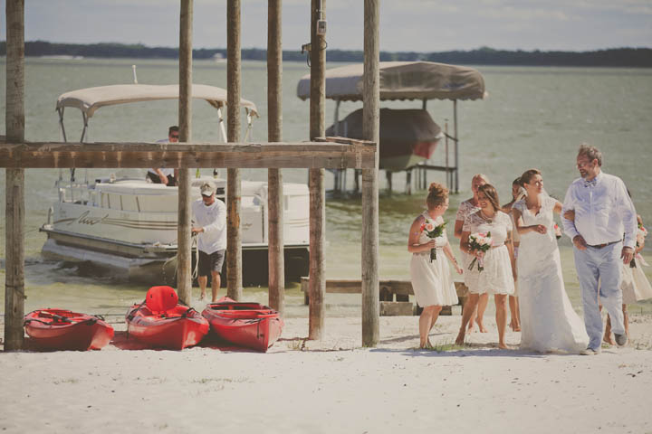 22 Florida Lake Wedding. By Stacy Paul Photography