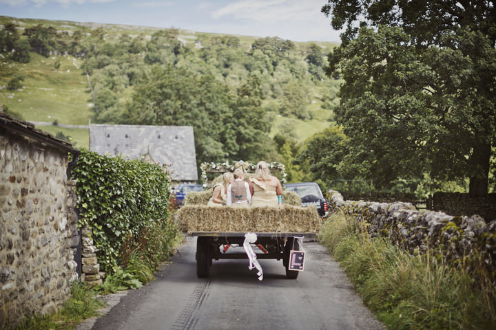22 Hay Bales and Tractor Loving Yorkshire Wedding My Mark Tattersall