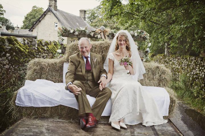 23 Hay Bales and Tractor Loving Yorkshire Wedding My Mark Tattersall
