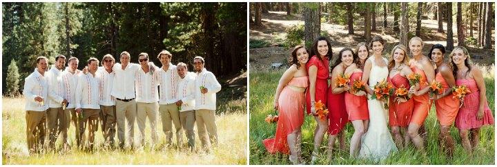 23 Rustic Outdoor Woodland Wedding