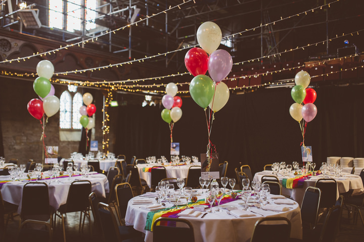 24 Colourfull Caribbean Meets Scottish Wedding