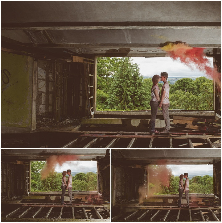 25 Paint Throwing Engagement Shoot in Scotland By Neil Thomas Douglas
