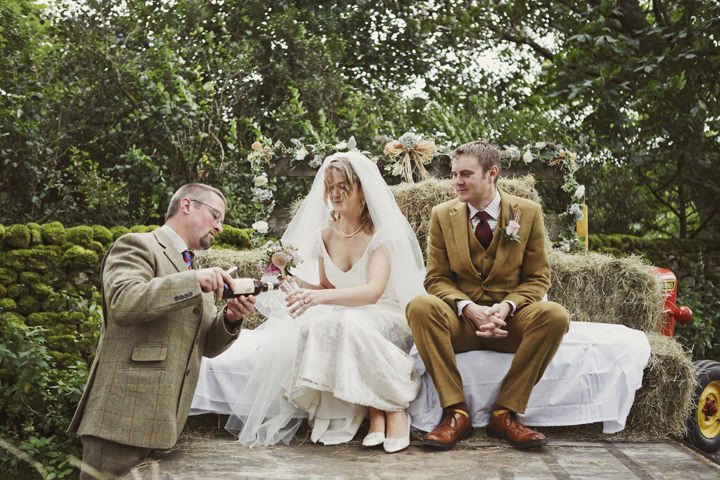 28 Hay Bales and Tractor Loving Yorkshire Wedding My Mark Tattersall