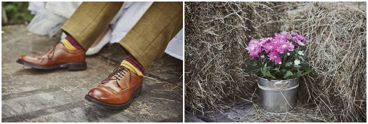 29 Hay Bales and Tractor Loving Yorkshire Wedding My Mark Tattersall